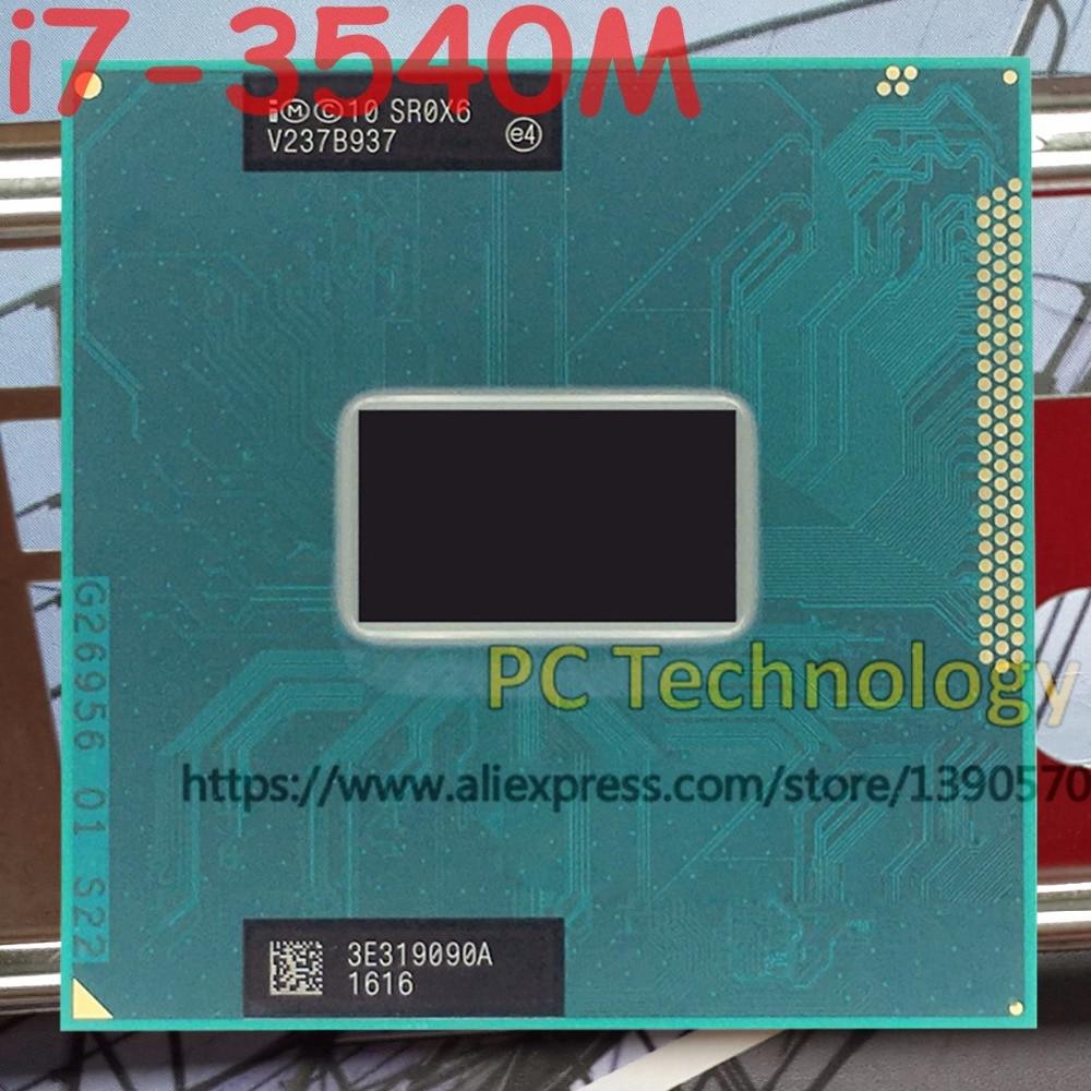 Original Intel Core i7 3540M SR0X6 CPU i7 3540M processor FCPGA988 3 00GHz 4M Dual Core