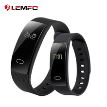LEMFO QS80 Bluetooth Smart Band Bracelet Wristband Heart Rate Sedentary Reminder Sleep Monitoring for IOS Android
