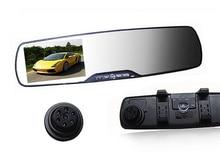 2.7″ Car dvr Camera Rearview Mirror Dash Vehicle DVR Video Recorder 1920*1080P Full HD Support Multi-language G-senor