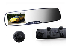 2.7″ Car dvr Camera Rearview Mirror Dash Vehicle DVR Video Recorder 1920*1080P Full HD Support Multi-language G-senor
