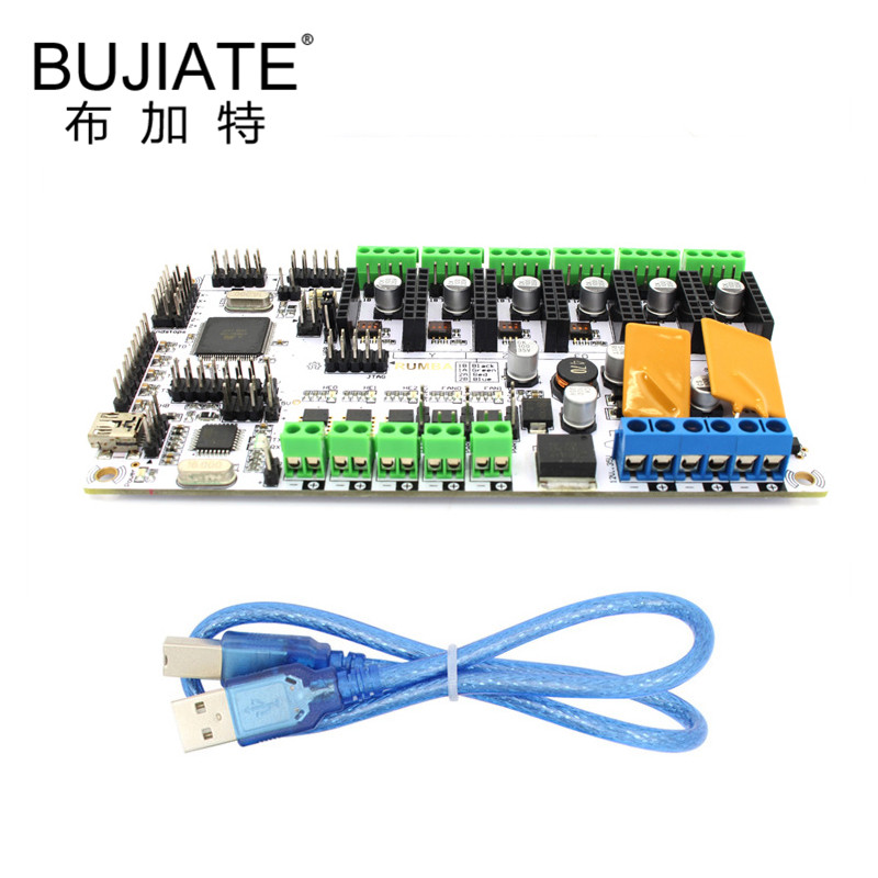 3D Printer Parts and Accessories Motherboard Rumba Main Control Board Control Board Optimized RUMBA Board maitech 03100628 3d printer temperature control board green