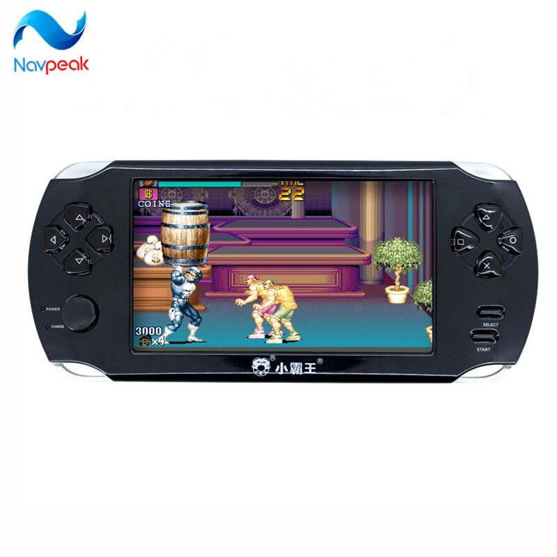 Livraison gratuite 5.1 pouces console de jeu 8 GB mémoire mille jeux gratuits portable mp4 lecteur de jeu pour nes console