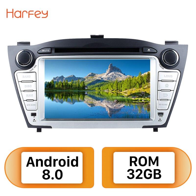 harfey 2din android 8 0 7inch car radio for hyundai tucson. Black Bedroom Furniture Sets. Home Design Ideas