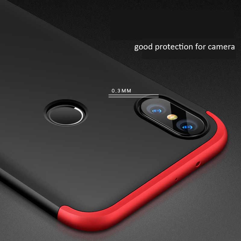 best website b466c 047a6 GKK Case For Xiaomi Mi A2 Lite 6X 360 Full Protection Cover MiA2 Lite Ring  Holder Finger Grip