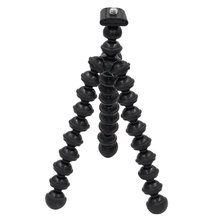 Black Octopus Small Tripod Camera Stand Gorillapod Monopod Mini Tripod with Holder for Gopro Sport Camera and phone(China)