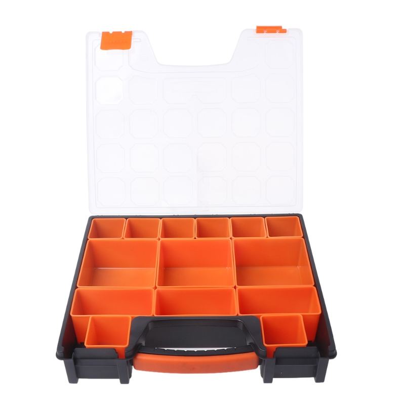 Portable Carry Tool Storage Case Spanner Screw Parts Hardware Organizer Box New