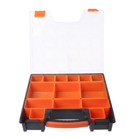 Portable Carry Tool Storage Case Spanner Screw Parts Hardware Organizer Box New|Tool Boxes| |  -