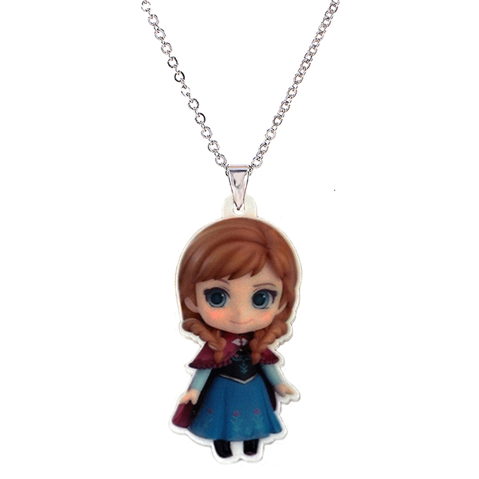 Cartoon princess plastic pendant necklace for little girl metal cartoon princess plastic pendant necklace for little girl metal silver chain flatback planar resin children necklaces pendants in pendant necklaces from mozeypictures Gallery