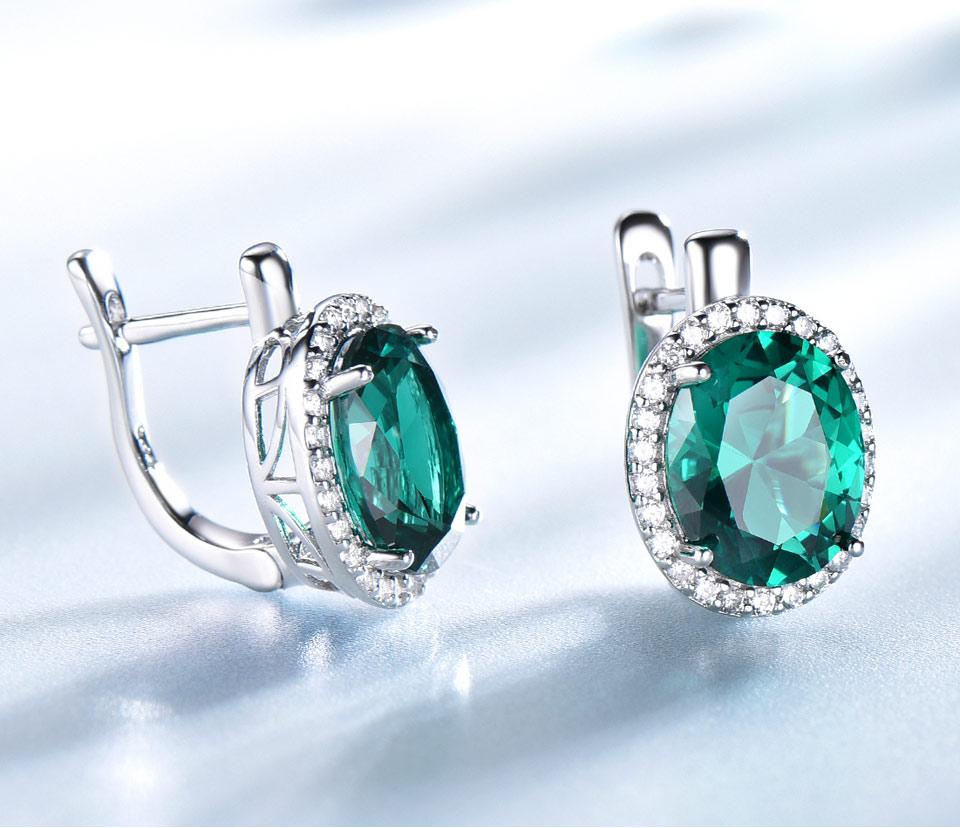 Honyy-Emerald-925-sterling-silver-clip-earring-for-women-EUJ084E-1-PC_04