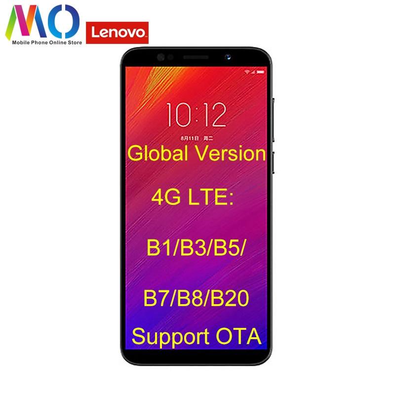 Global Version Unlocked Lenovo A5 L38021 Smart Phone 4G FDD LTE B20 Android Mobile Phone OTA