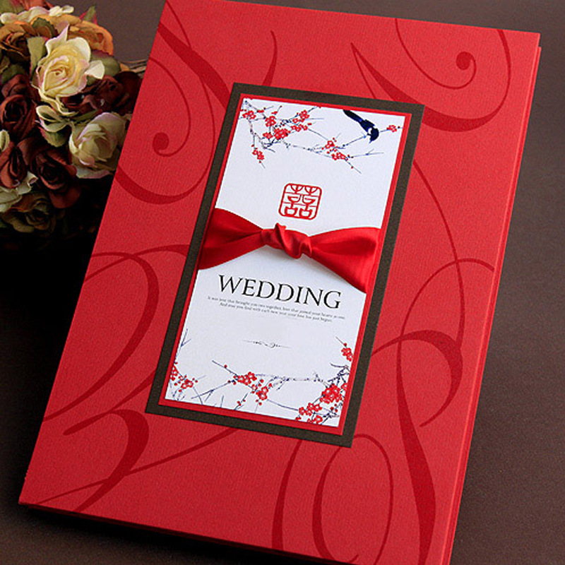 Wedding Check in Guest Book for Wedding Banquet Guest Title Booklet Bird Signature Book Wedding Supplies in Signature Guest Books from Home Garden