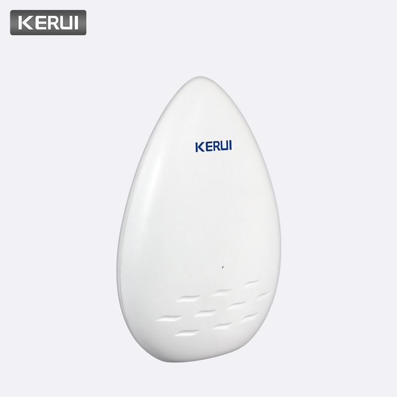 KERUI 120dB Home Security Alarm Longer WD51 Water Leakage Sensor Alarm Equipment Electronic Water Leak Detector Alarm Detector