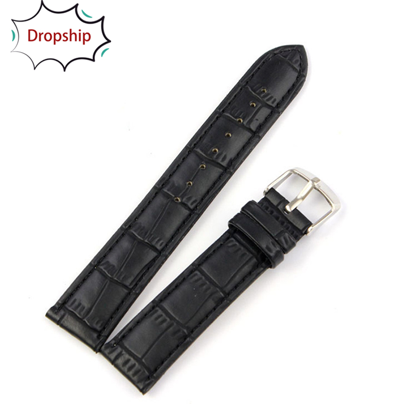 strap for Watch Willby 1pc High Quality Soft Sweatband Faux Leather Strap Steel Buckle Wrist Watch Band jan17 стоимость