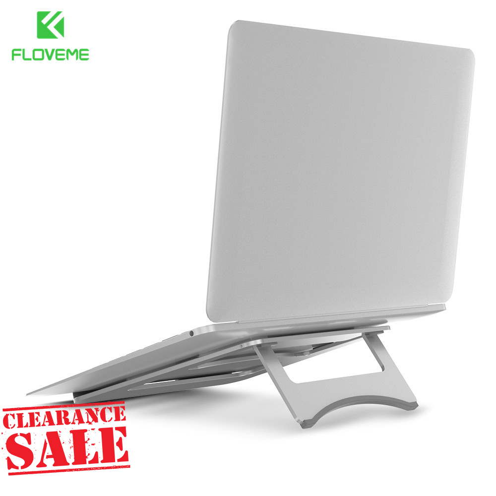 FLOVEME Universal Aluminum Tablet Stand Holder For iPad 1 2 3 4 Luxury Metal Desk Holder For Macbook Pro Laptop Stand Holder