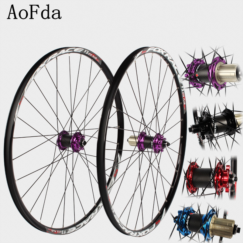 Off-road bike MTB mountain Bike Bicycle Carbon Fiber Wheel Wheelset Rim 8/11 speed 26/27.5er Bike Wheel Wheelset