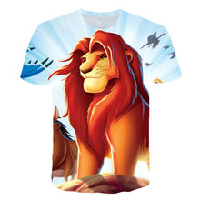 The Lion King Remember Who You Are T Shirt Men Cartoon 3D Animal t shirt men Unisex New Fashion tshirt Funny Design Kids Tshirt