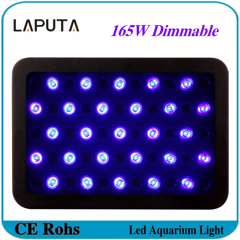 Fish aquarium lighting systems - 1pcs Hot Dimmable 165w Led Aquarium Light Led Grow Light For Indoor Hydroponic Grow Systems Fish