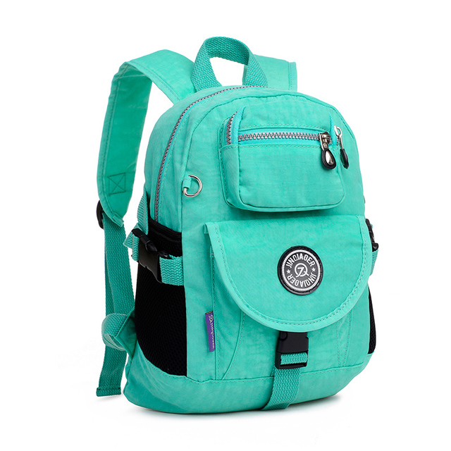 lightweight waterproof nylon Colorful printing small backpack ...