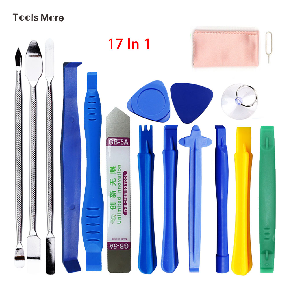 Universal Dual End Metal Spudger Set Prying Plastic Crowbar Open Tool Kit for iPhone Laptop Tablet iPad PC Repair Disassemble big plastic crowbar