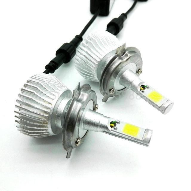 80W H8 H9 H11 COB Car Automotives Headlight kit bulbs Auto led headlamps H1 H3 H4 H7 HB3 HB4 9005 9006 12V/24V