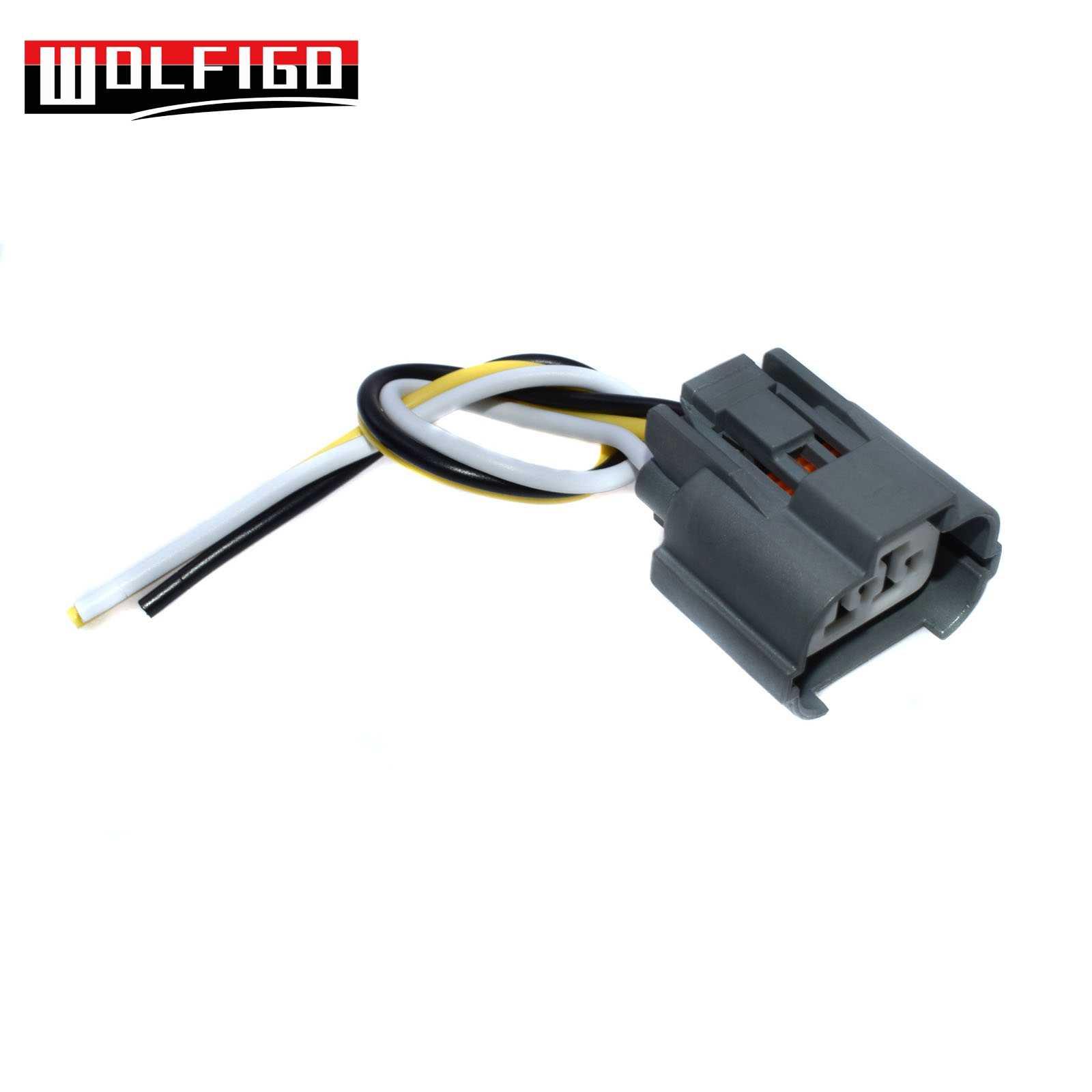 wolfigo new 1pc 10 pcs vss speed sensor connector wiring plug pigtail for honda acura  [ 1600 x 1600 Pixel ]