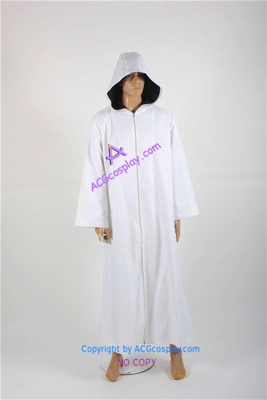 Naruto Anbu cape cloak white cosplay costume