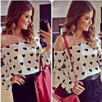 Women Clothing Limited Roupas Femininas 2014 New Spring Women Blouse Casual Shirt Loose Fit Sleeve Blusas Femininas Shipping
