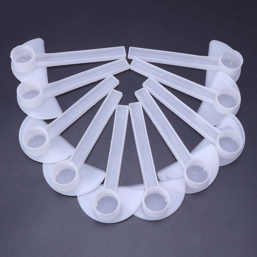 10pcs Plastic Beehive Beekeeper Bee Feeder Water Drink Feeding Fountains Beekeeping Apiculture Tool C4210pcs Plastic Beehive Beekeeper Bee Feeder Water Drink Feeding Fountains Beekeeping Apiculture Tool C42