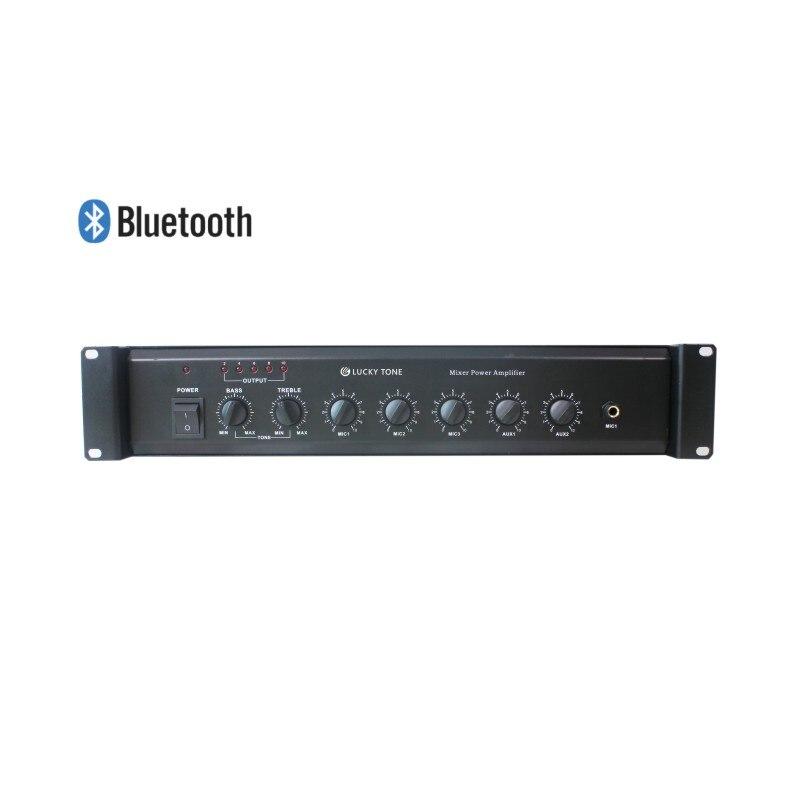 Professionelle Audiogeräte Ma130t Pa Mischer Verstärker Bass Und Höhen Control Automatische Stumm Funktion Für Paging-und Ankündigung