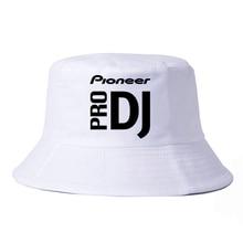 DJ style Pioneer Cap Summer cool sun bucket hats Women Men print Pioneer DJ PRO fisherman hat panama bucket hat bone pioneer rmx 500 dj
