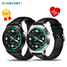 SMARCENT GW01 Smart Watch IPS Screen MTK2502 Bluetooth Heart Rate Monitor Smart Band 2 Health Bracelet for IOS Android Xiaomi