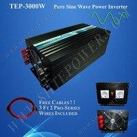 Free Shipping Power Inverter 12v 24v To 240v 3000w With CE ROHS