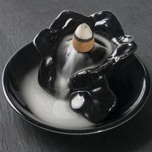 9 estilos torre de incenso queimador de cerâmica suporte da fragrância refluxo incenso refluxo refluxo incenso incenso vara