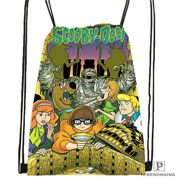 Custom pokemon pikachu 01 Drawstring Backpack Bag Cute Daypack Kids Satchel Black Back 31x40cm 180611 01