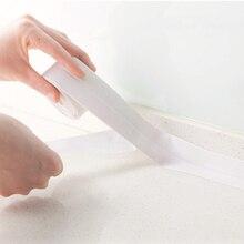 1 Rolle PVC Küche Wasserdichte Mehltau Band Paste Ecke Linie Protector Aufkleber Streifen Naht Joint Feuchtigkeits Dekoration