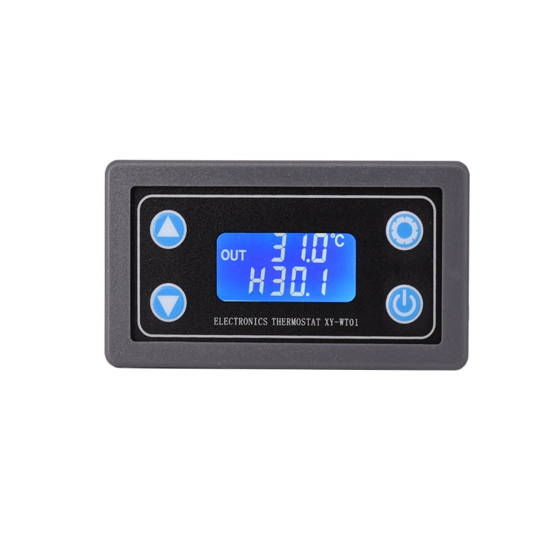DC12V LED Digital Thermostat Temperature Control Thermometer Thermo Controller Switch Module + NTC Sensor Adjustable temperature стоимость