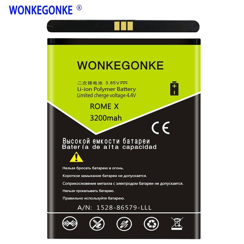 WONKEGONKE para ROMA ROMA Bateria para UMI Umi X ROMEX bateria do Smartphone