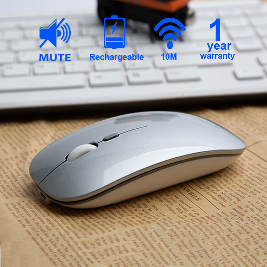 Cliry Rechargeable Optical Wireless Mouse Slient Button Ultra Thin Mini Optical Ultrathin USB 2.4G Mice for Computer Laptop PC-in Mice from Computer & Office on Aliexpress.com | Alibaba Group