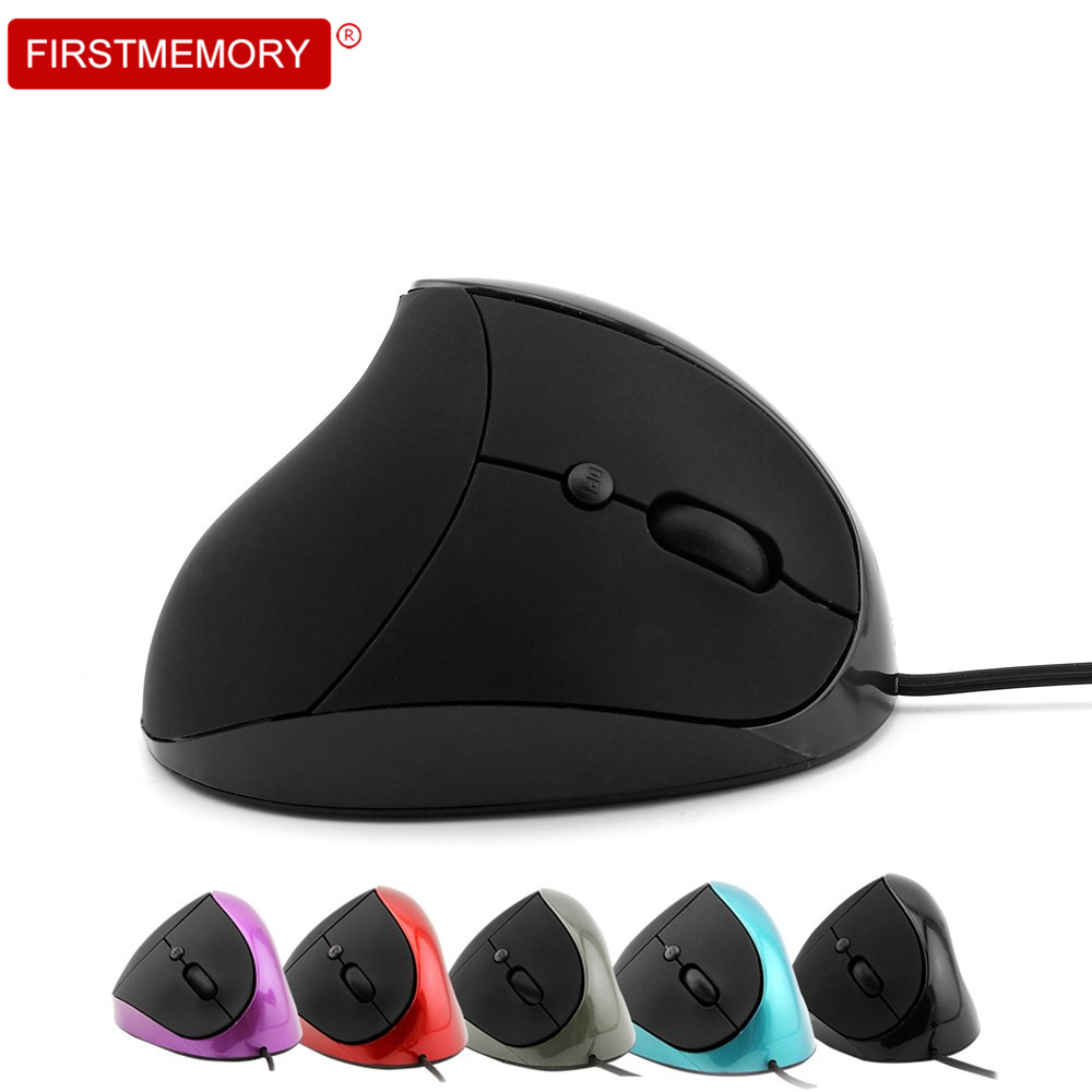 2018 New Style Wired Mouse Ergonomic Vertical Mouse Mice USB 6 Keys Vertical Optical for PC Laptop Computer Mause