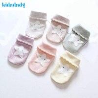 12 זוגות\חבילה גרבי תינוק תינוקות בנות בוי החורף אנטי מחליק גרביים חמים HJS7122 מוצרים של השנה החדשה