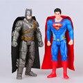 2 шт./1 лот Бэтмен Против Супермена 16 см Игрушки #1655 Фигурку Brinquedo Игрушка Дети Рождественский Подарок бесплатная Доставка