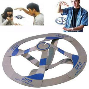 Magic Trick Toys Hot Sale Mystery UFO Floating Flying Saucer Magic Flying Saucer Disc Frisbee Outdoor