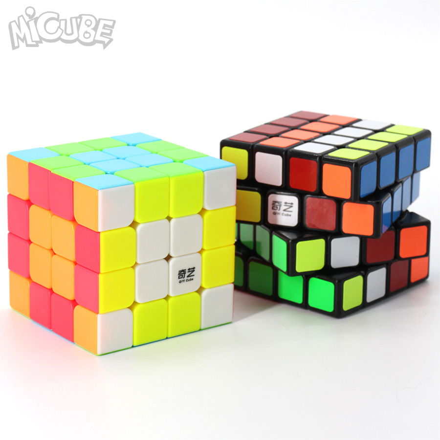 Cube Stickerless QiyuanS QiYi Magic Cube 4x4x4 Speed Cube 4x4 Qiyuan Puzzle 62mm Competition Toys For Children Kids Cubo WCA
