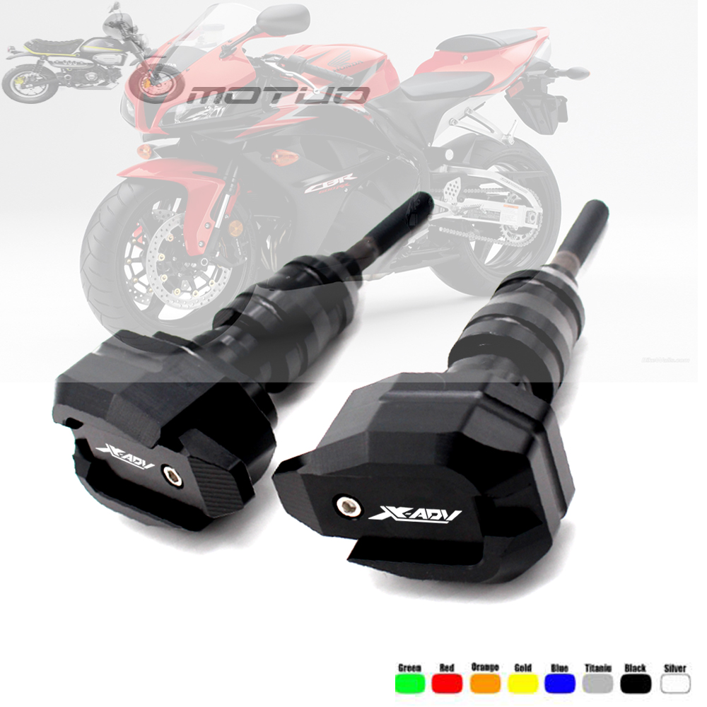 Motorcycle engine protection Sliders cover For Honda XADv X-ADV 750 2017-2018 CNC Frame Sliders Crash Falling Protector GuardMotorcycle engine protection Sliders cover For Honda XADv X-ADV 750 2017-2018 CNC Frame Sliders Crash Falling Protector Guard