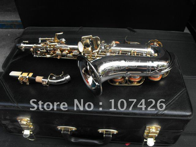 NEW YSS 475 Alto saxophone sax With Hard case free shipping