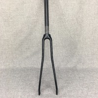 New Arrival 700C Road Bicycle 3K UD Full Carbon Fibre Forks Fixed Gear Bike Carbon Forks