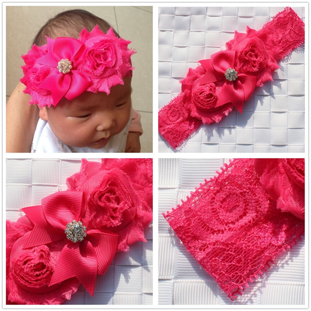 shabby newborn turbante girls kids braided twisted flowers headband bows elastic for hair headbands wraps headbands headdress