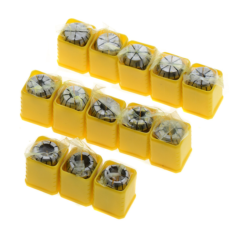 13Pcs 1-13mm ER20 Spring Collet Set CNC Workholding Engraving&Milling Lathe 2mm er11 spring collet for cnc workholding engraving