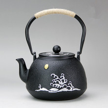 iron pot tea set japanese uncoated cast iron pots pig iron pots boiling water iron kettle with filter