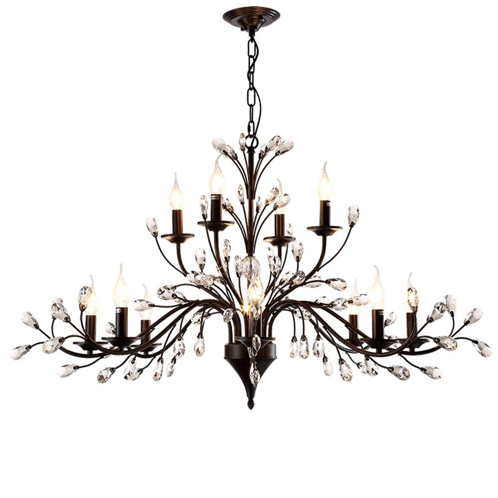 HTB1Bibtc6fguuRjy1zeq6z0KFXaG Modern Flush Mount Home Gold Black LED K9 Crystal Ceiling Chandelier Lights Fixture for Living Room Bedroom Kitchen Lamps